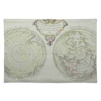 Map of the World 14 Placemat