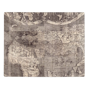 Map of the World   1507 Jigsaw Puzzle