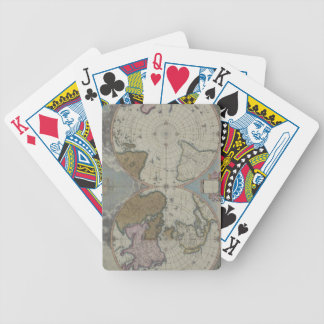 Map of the World 16 Bicycle Playing Cards