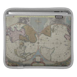 Map of the World 16 iPad Sleeve