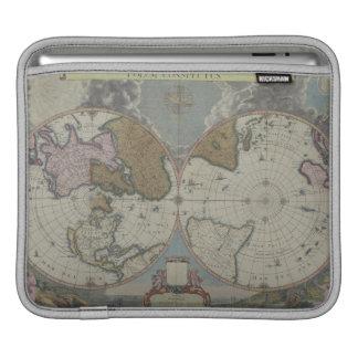 Map of the World 16 iPad Sleeves