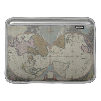 Map of the World 16 MacBook Sleeve