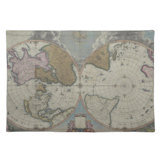 Map of the World 16 Placemat