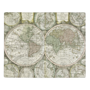 Map of the World   1744 Jigsaw Puzzle