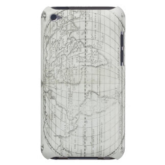 Map of the World 17 Barely There iPod Cases