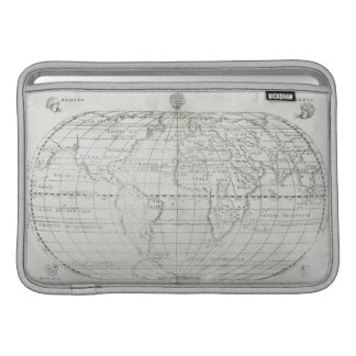 Map of the World 17 MacBook Sleeve