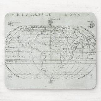 Map of the World 17 Mouse Mat