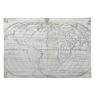Map of the World 17 Placemat