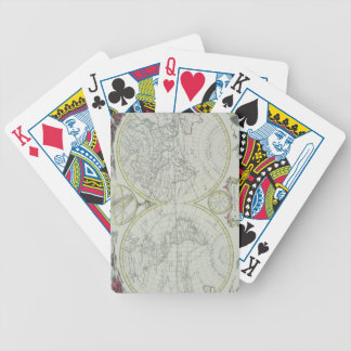 Map of the World 18 Bicycle Playing Cards