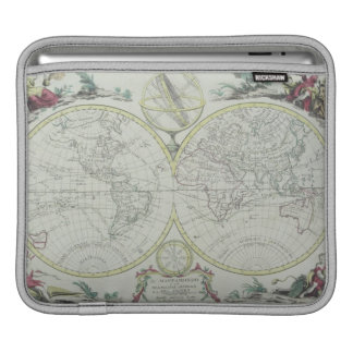 Map of the World 18 iPad Sleeve