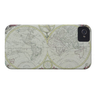 Map of the World 18 iPhone 4 Cover