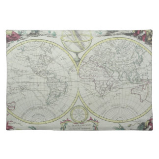 Map of the World 18 Placemat