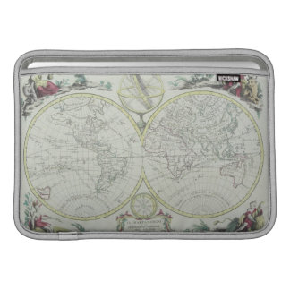 Map of the World 18 Sleeve For MacBook Air