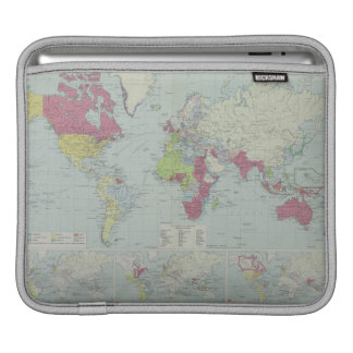 Map of the World 20 iPad Sleeve