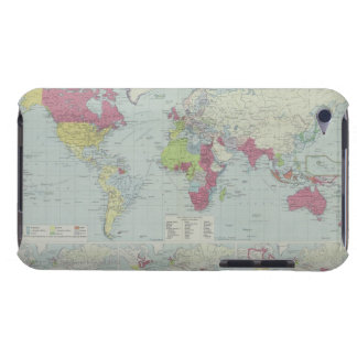 Map of the World 20 iPod Case-Mate Cases