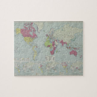 Map of the World 20 Jigsaw Puzzle