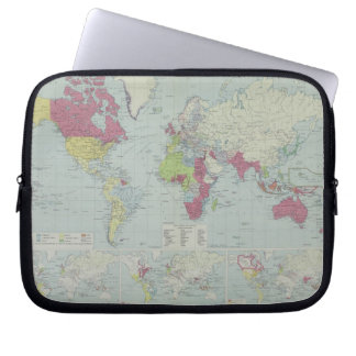 Map of the World 20 Laptop Sleeve