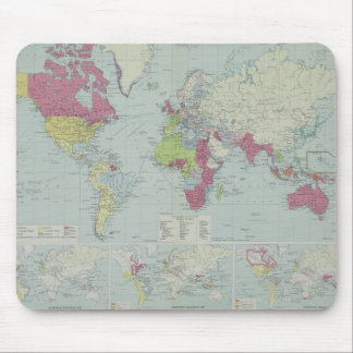 Map of the World 20 Mouse Mat