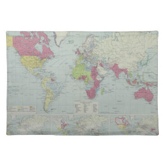 Map of the World 20 Placemat