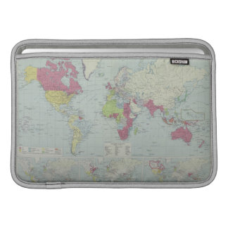 Map of the World 20 Sleeve For MacBook Air