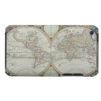 Map of the World 21 Barely There iPod Covers