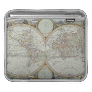 Map of the World 21 iPad Sleeve