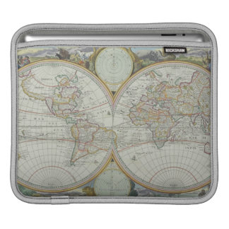 Map of the World 21 iPad Sleeves