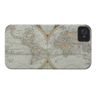 Map of the World 21 iPhone 4 Covers