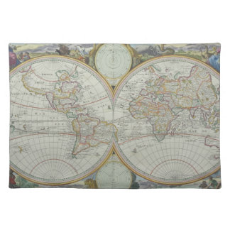 Map of the World 21 Placemat