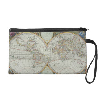 Map of the World 21 Wristlets