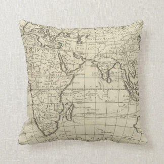 Map of the World 2 2 Cushion