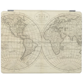 Map of the World 2 2 iPad Cover