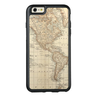 Map of the World 2 2 OtterBox iPhone 6/6s Plus Case