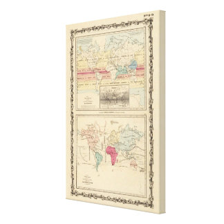 Map of The World 2 Canvas Print