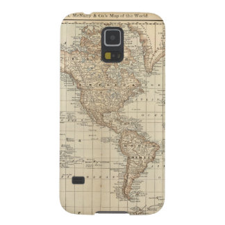 Map of the World 2 Cases For Galaxy S5