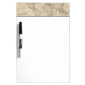 Map of the World 2 Dry Erase Board