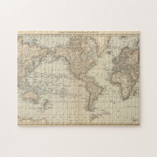 Map of the World 2 Jigsaw Puzzle