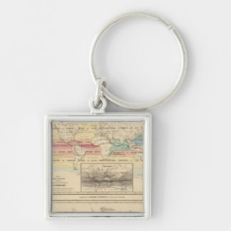 Map of The World 2 Key Ring