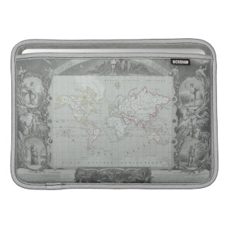 Map of the World 2 MacBook Sleeve
