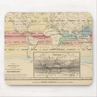 Map of The World 2 Mouse Mat