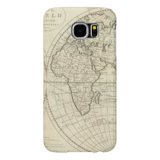 Map of the World 2 Samsung Galaxy S6 Cases