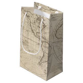 Map of the World 2 Small Gift Bag