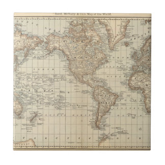 Map of the World 2 Tile
