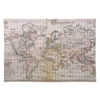 Map of the World 3 Placemat