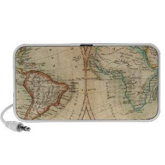 Map of the World 3 iPod Speaker