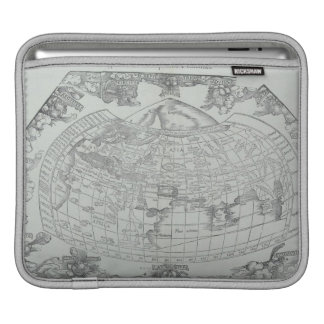 Map of the World 4 iPad Sleeve