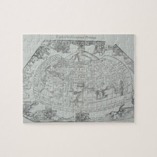 Map of the World 4 Jigsaw Puzzle