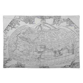 Map of the World 4 Placemat