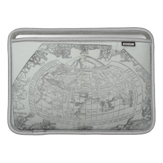 Map of the World 4 Sleeves For MacBook Air