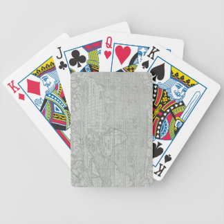 Map of the World 5 Bicycle Playing Cards